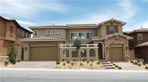 Photo of 378 Pollino Peaks Street, Las Vegas, NV 89138 (MLS # 2234096)