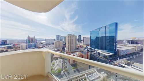 Photo of 135 East HARMON Avenue #2505, Las Vegas, NV 89109 (MLS # 2259096)