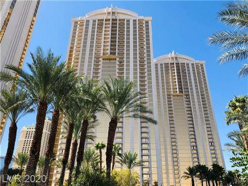 Photo of 135 East HARMON Avenue #2020, Las Vegas, NV 89109 (MLS # 2229126)