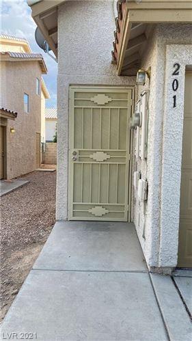 Photo of 7563 GLOWING EMBER Court #201, Las Vegas, NV 89130 (MLS # 2332135)