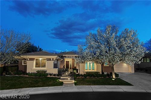 Photo of 6 ANTHEM CREEK Circle, Henderson, NV 89052 (MLS # 2163166)
