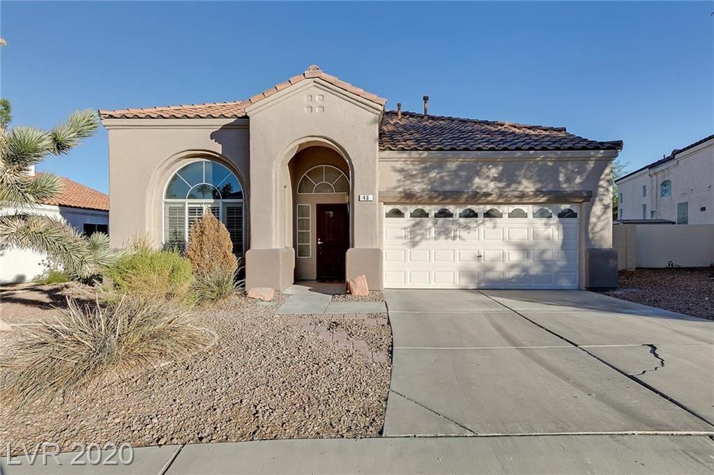 Photo of 46 Desert Rain Lane, Henderson, NV 89074 (MLS # 2240170)