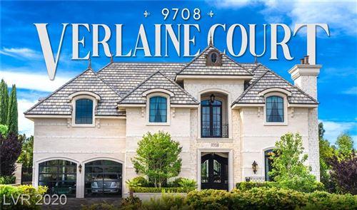 Photo of 9708 VERLAINE Court, Las Vegas, NV 89145 (MLS # 2206179)