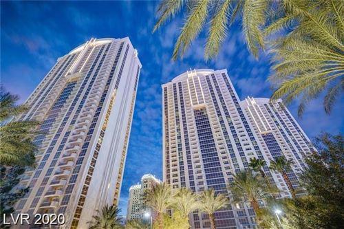 Photo of 135 East HARMON Avenue #2807, Las Vegas, NV 89109 (MLS # 2206184)
