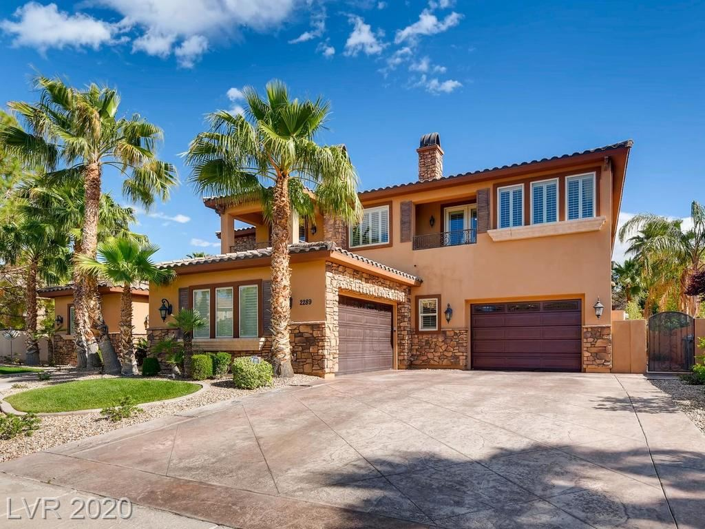 Photo for 2289 CANDLESTICK Avenue, Henderson, NV 89052 (MLS # 2230185)