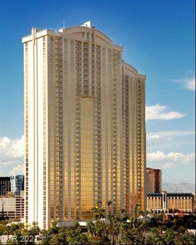 Photo of 145 Harmon Avenue #3807, Las Vegas, NV 89109 (MLS # 2261195)