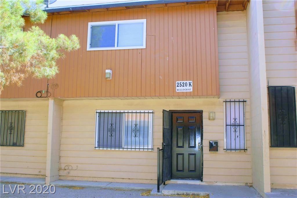 Photo of 2520 BULLOCH Street #K, North Las Vegas, NV 89030 (MLS # 2201201)
