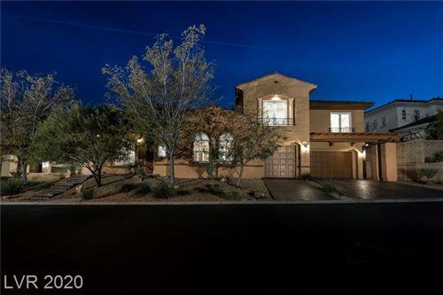 Photo of 709 Coriander Canyon Court, Las Vegas, NV 89138 (MLS # 2241205)