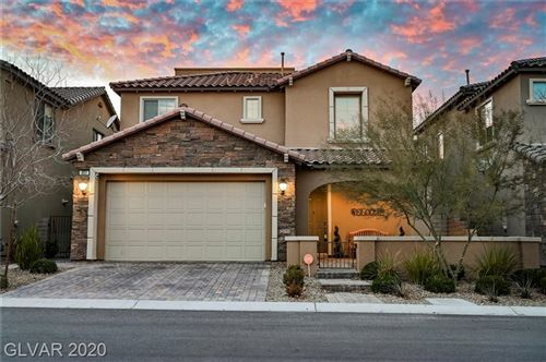 Photo of 451 ASTILLERO Street, Las Vegas, NV 89138 (MLS # 2166240)