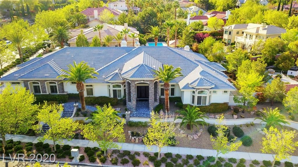 Photo of 9800 Moonridge, Las Vegas, NV 89134 (MLS # 2202267)