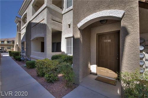 Photo of 9303 GILCREASE Avenue #1196, Las Vegas, NV 89149 (MLS # 2210308)