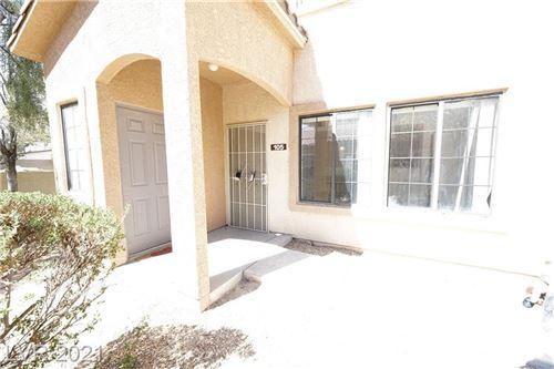 Photo of 2121 Hussium Hills Street #105, Las Vegas, NV 89108 (MLS # 2334325)