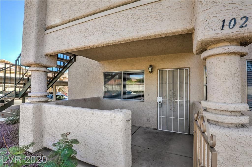 Photo of 7809 Clarkdale Drive #102, Las Vegas, NV 89128 (MLS # 2242328)