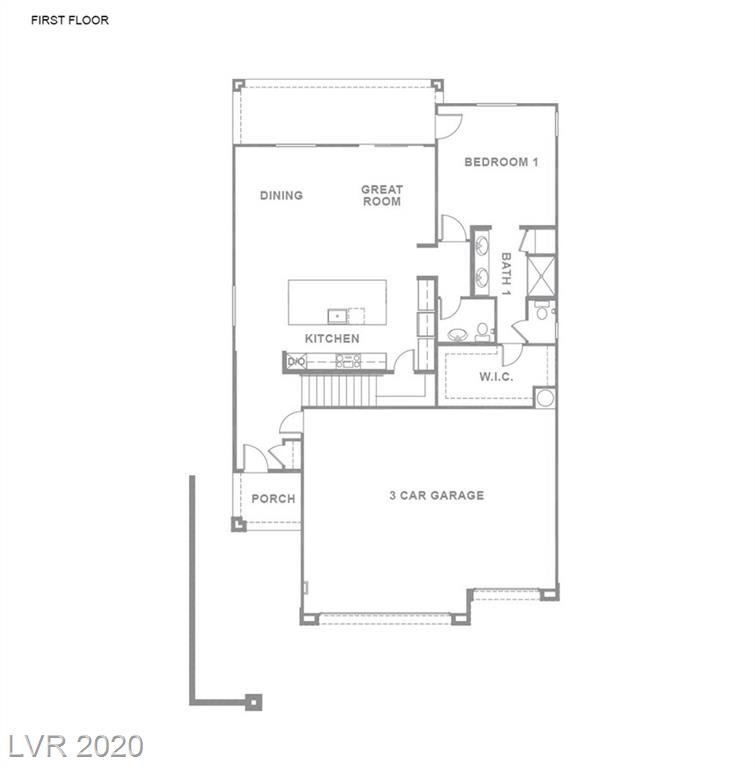 Photo of 7438 ARDENNO Street #Lot 134, North Las Vegas, NV 89084 (MLS # 2218356)