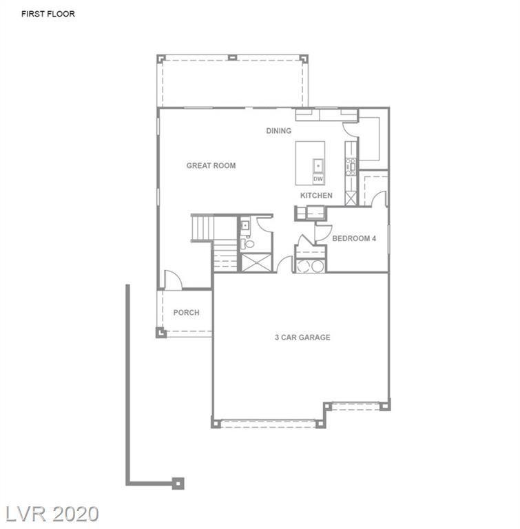 Photo of 7434 ARDENNO Street #Lot 133, North Las Vegas, NV 89084 (MLS # 2218361)