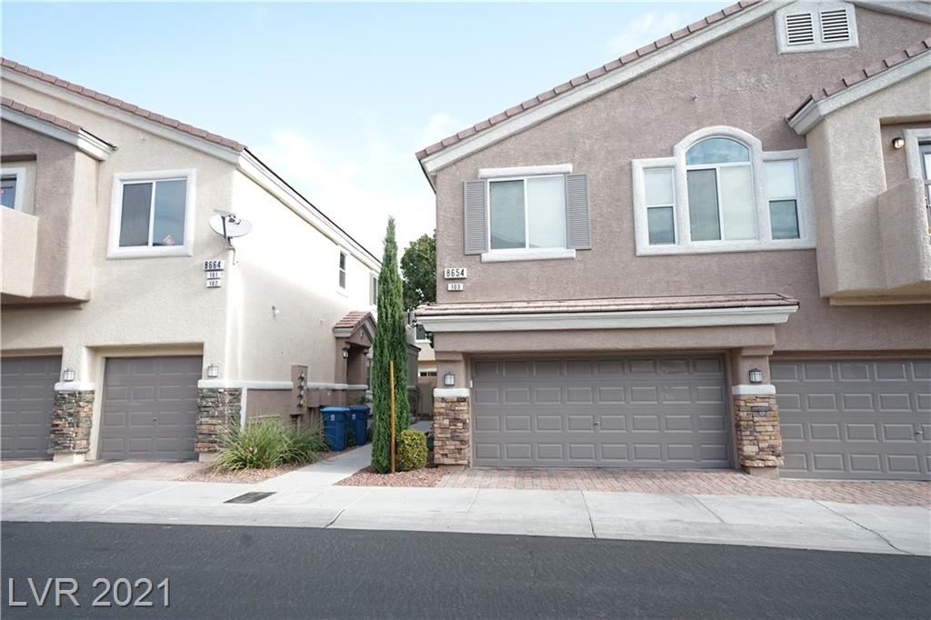 Photo of 8654 Traveling Breeze Avenue #103, Las Vegas, NV 89178 (MLS # 2325372)