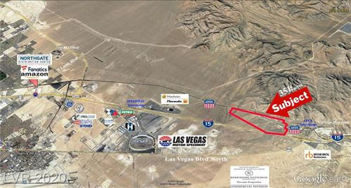 Photo of US I-15 HWY - Apex Industrial Park, North Las Vegas, NV 89124 (MLS # 2136380)