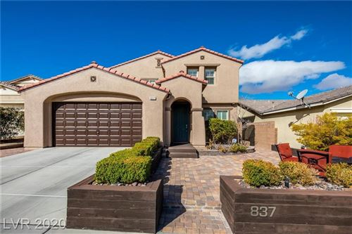 Photo of 837 Fulford Court, Henderson, NV 89052 (MLS # 2185380)