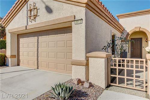 Photo of 2913 Vista Butte Drive, Las Vegas, NV 89134 (MLS # 2258393)