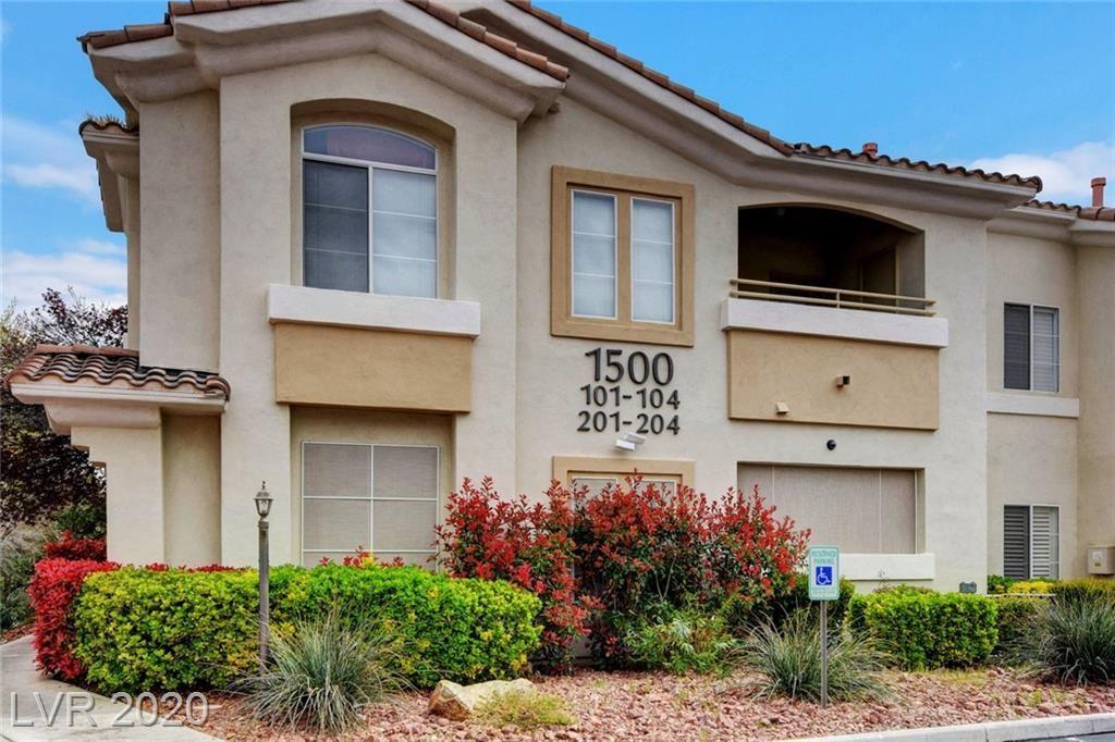 Photo of 1500 Ruby Cliffs #103, Las Vegas, NV 89144 (MLS # 2181396)
