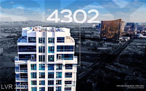 Photo of 2700 LAS VEGAS Boulevard #4302, Las Vegas, NV 89109 (MLS # 2258404)