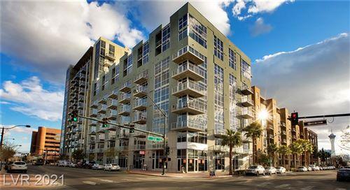Photo of 353 East BONNEVILLE Avenue #523, Las Vegas, NV 89101 (MLS # 2300414)