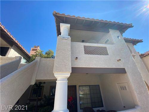 Photo of 1415 SANTA MARGARITA Street #F, Las Vegas, NV 89146 (MLS # 2341427)