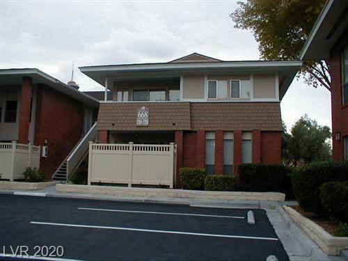 Photo of 668 OAKMONT Avenue #1709, Las Vegas, NV 89109 (MLS # 2200434)