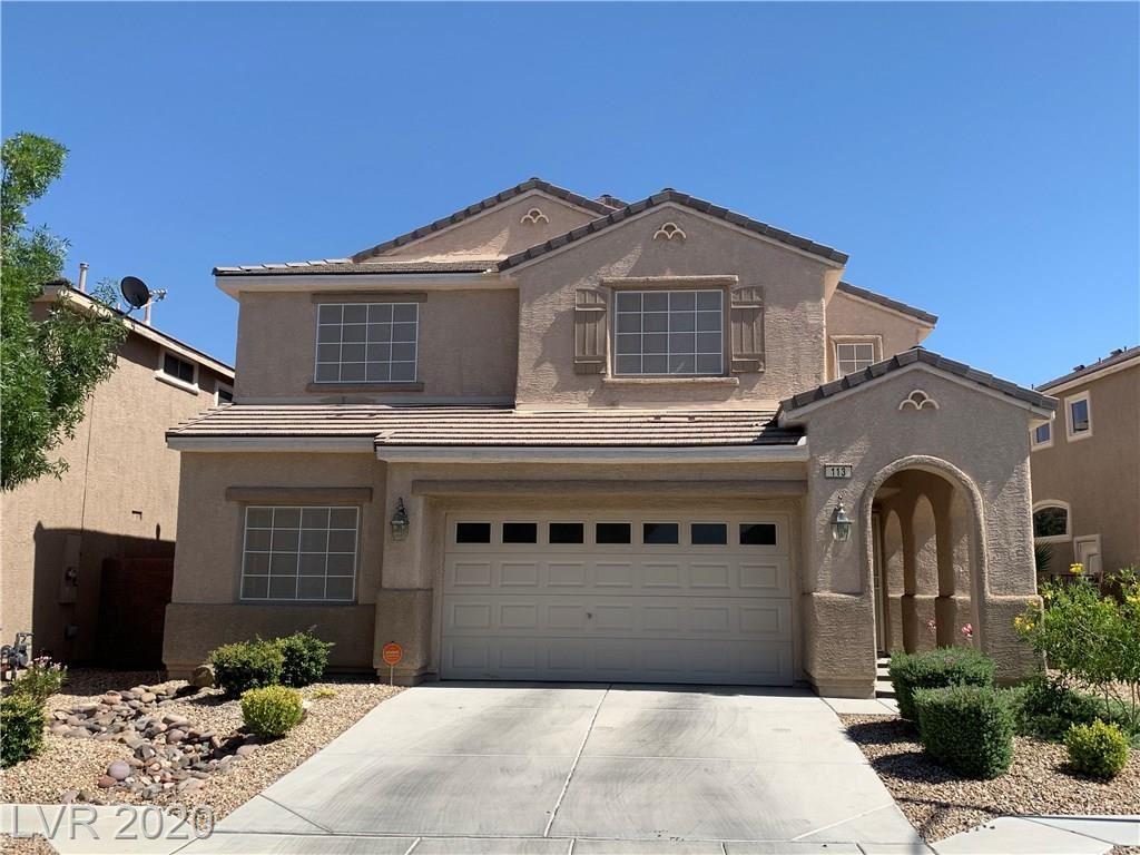 Photo of 113 Gemstone Hill Avenue, North Las Vegas, NV 89031 (MLS # 2209434)