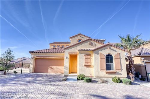 Photo of 4 VERRUCA Court, Henderson, NV 89011 (MLS # 2166435)