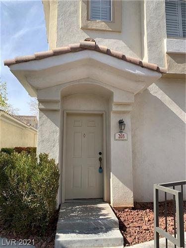 Photo of 10001 Crimson Palisades Place #203, Las Vegas, NV 89144 (MLS # 2284436)