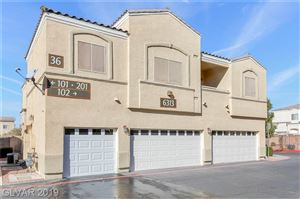Photo of 6313 DESERT LEAF Street #201, North Las Vegas, NV 89081 (MLS # 2151447)