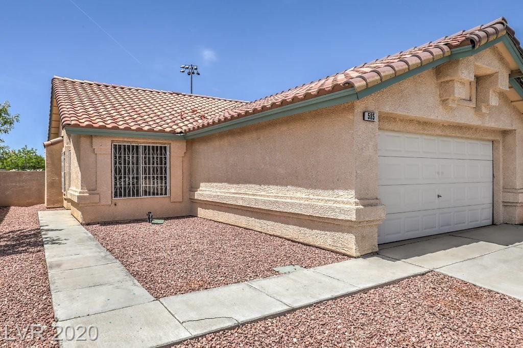 Photo of 585 Old West Court, Las Vegas, NV 89110 (MLS # 2196451)