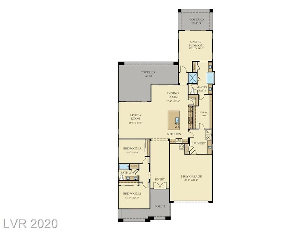 Photo of 123 REFLECTION COVE Drive, Henderson, NV 89011 (MLS # 2201455)