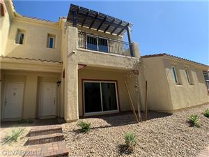 Photo of 981 VIA LOMBARDI #55, Henderson, NV 89011 (MLS # 2115468)