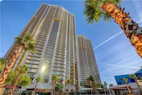 Photo of 125 Harmon Avenue #3716, Las Vegas, NV 89109 (MLS # 2254480)