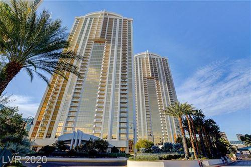 Photo of 145 East Harmon Avenue #2201, Las Vegas, NV 89109 (MLS # 2223495)