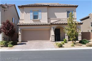 Photo of 5661 BELGRANO VISTA Drive, Las Vegas, NV 89118 (MLS # 2135500)
