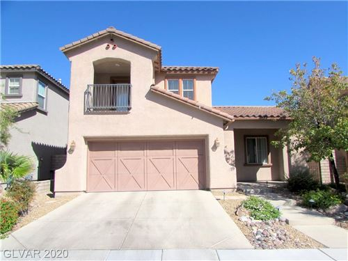 Photo of 604 BACHELOR BUTTON Street, Las Vegas, NV 89138 (MLS # 2166515)