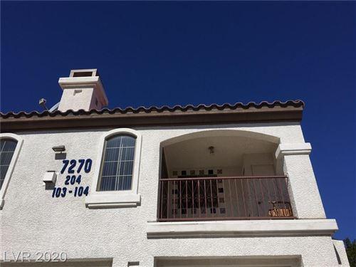 Photo of 7270 Diamond Canyon Lane #204, Las Vegas, NV 89149 (MLS # 2209516)