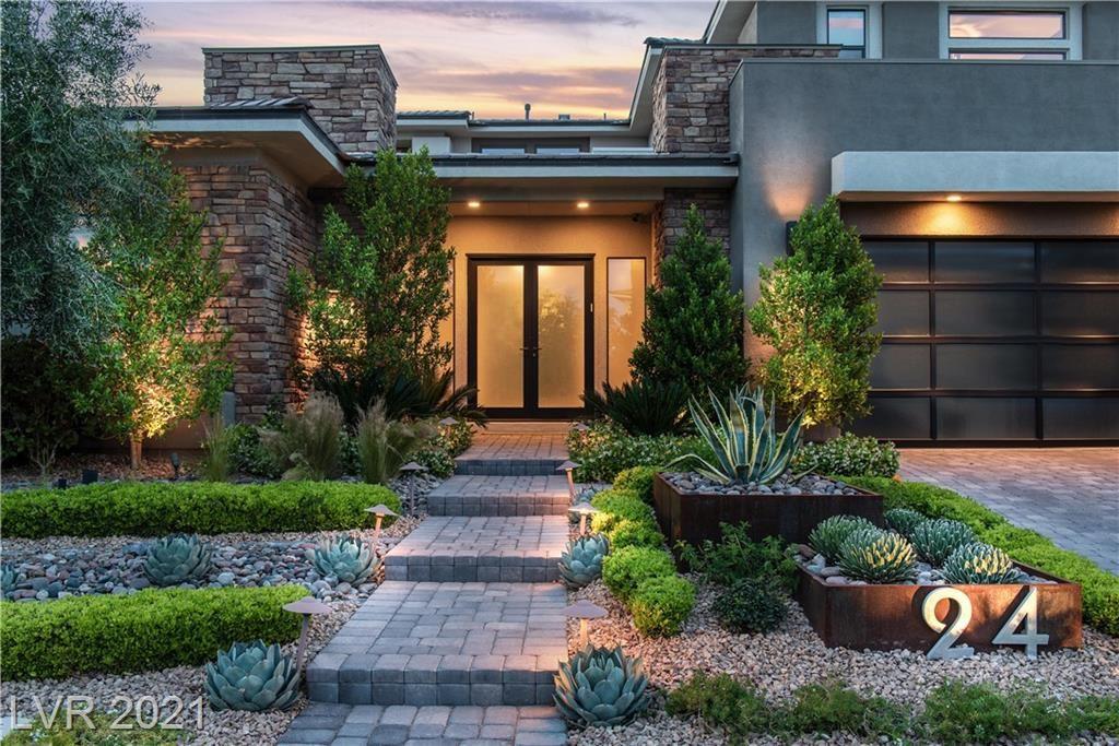 Photo of 24 SPRINGACRE Drive, Las Vegas, NV 89135 (MLS # 2292518)