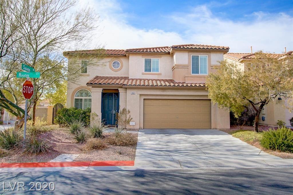 Photo of 2968 REATINI Court, Henderson, NV 89052 (MLS # 2172553)