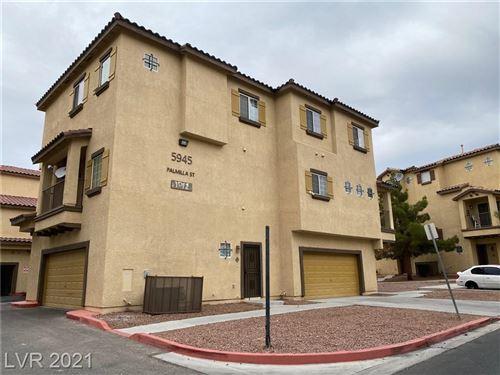 Photo of 5945 Palmilla Street #11, North Las Vegas, NV 89031 (MLS # 2344561)