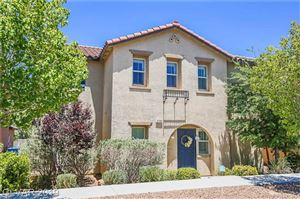Photo of 3194 SISLEY GARDEN Avenue, Henderson, NV 89044 (MLS # 2108577)