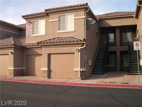 Photo of 4660 Basilicata #102, North Las Vegas, NV 89084 (MLS # 2188578)