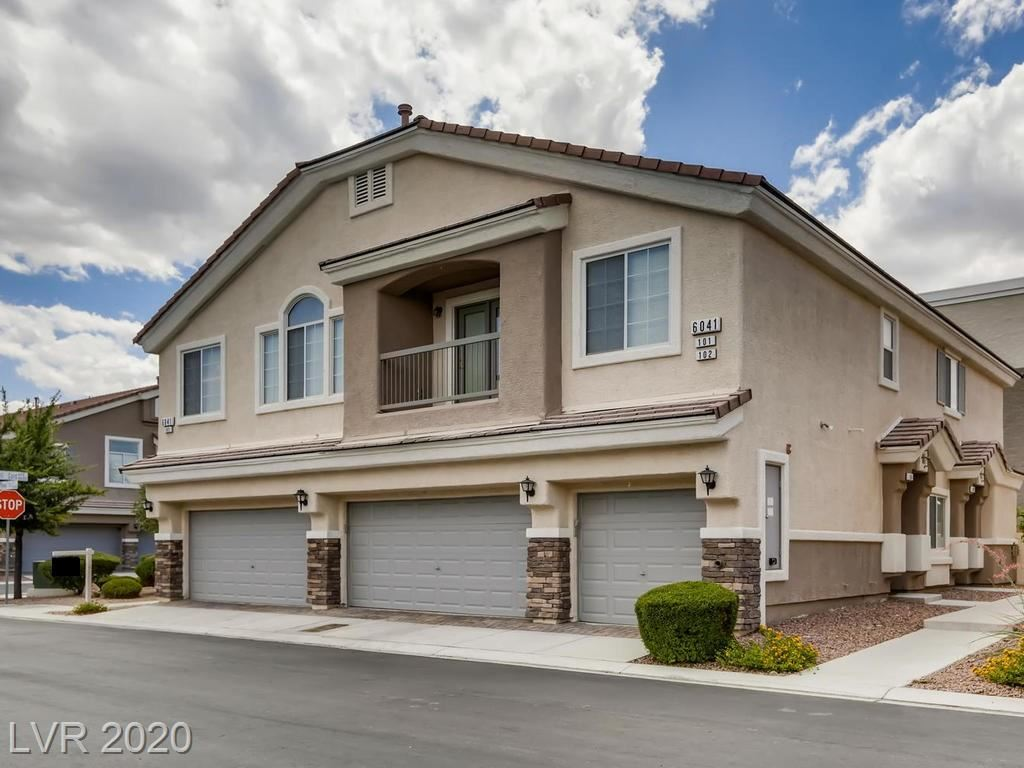 Photo of 6041 Riverwalk Falls Street #103, North Las Vegas, NV 89031 (MLS # 2207579)