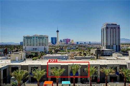 Photo of 353 East Bonneville Avenue #738, Las Vegas, NV 89101 (MLS # 2332582)