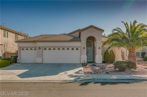 Photo of 1679 CLOVERCREST Court, Henderson, NV 89012 (MLS # 2165600)