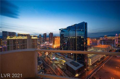 Photo of 125 Harmon Avenue #3401, Las Vegas, NV 89109 (MLS # 2281603)