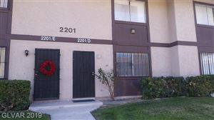 Photo of 2201 Mars Avenue #D, North Las Vegas, NV 89030 (MLS # 2068614)